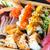 conjunto · diferente · sushi · peixe · verde · japonês - foto stock © dolgachov