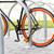 bicicleta · trancado · rua · estacionamento · transporte - foto stock © dolgachov