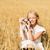 女性 · 写真 · 花 · 花 · 夏 - ストックフォト © dolgachov