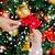 close up of family decorating christmas tree stock photo © dolgachov