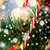 kerstboom · ingericht · snoep · riet · muur · papier - stockfoto © dolgachov