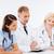 gezondheidszorg · professionals · lab · aantrekkelijk · jonge · vrouwelijke - stockfoto © dolgachov