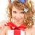 女性 · 蝶 · 髪 · 画像 · 幸せ · セクシー - ストックフォト © dolgachov