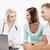doktor · bakıyor · dizüstü · bilgisayar · sağlık · tıbbi · teknoloji - stok fotoğraf © dolgachov