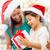 幸せ · 母親 · 子 · 少女 · ギフトボックス · 休日 - ストックフォト © dolgachov