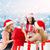 felice · donne · Natale · regali - foto d'archivio © dolgachov