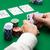 poker · tabeli · dwa · karty · hazardu · chipy - zdjęcia stock © dolgachov