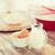liszt · tojások · vágódeszka · asztal · fa · tojás - stock fotó © dolgachov