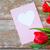 tulipas · cartão · coração · dia · dos · namorados · saudação - foto stock © dolgachov