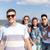 tizenéves · fiú · napszemüveg · barátok · kívül · nyár · ünnepek - stock fotó © dolgachov