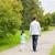 szczęśliwą · rodzinę · spaceru · lata · parku · rodziny · rodzicielstwo - zdjęcia stock © dolgachov