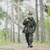 genç · asker · gibi · yalıtılmış - stok fotoğraf © dolgachov