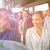 幸せ · 搭乗 · 旅行 · バス · 輸送 · 観光 - ストックフォト © dolgachov