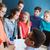 группа · студентов · учитель · школы · образование · обучения - Сток-фото © dolgachov