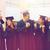 gelukkig · studenten · bachelors · onderwijs · afstuderen · mensen - stockfoto © dolgachov