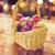 осень · корзины · плодов · листьев · продовольствие - Сток-фото © dolgachov