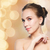 belo · mulher · jovem · cara · férias · luzes · beleza - foto stock © dolgachov