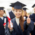 boldog · diákok · mutat · remek · oktatás · érettségi - stock fotó © dolgachov