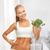 mulher · abdômen · esportes · dieta · menina - foto stock © dolgachov