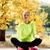 若い女の子 · 瞑想 · 秋 · 公園 · 美しい · 女性 - ストックフォト © dolgachov