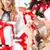 mujeres · ayudante · muchos · cajas · de · regalo - foto stock © dolgachov