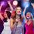 música · retrato · auriculares · mujer · diversión · jóvenes - foto stock © dolgachov