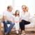 famille · heureuse · Kid · déplacement · nouvelle · maison · carton - photo stock © dolgachov