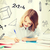 学生 · 少女 · 勉強 · 学校 · 教育 - ストックフォト © dolgachov