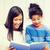 iskolás · lány · tanár · olvas · könyv · osztály · nő - stock fotó © dolgachov