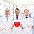 médecins · coeur · santé · médicaux · deux · jeunes - photo stock © dolgachov