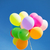çok · balonlar · uçmak · gökyüzü · mavi · gökyüzü · parti - stok fotoğraf © dolgachov