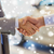 autókereskedő · kezet · fog · férfi · autó · bolt · kezek - stock fotó © dolgachov