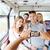vrienden · smartphone · reizen · toerisme · zomer - stockfoto © dolgachov