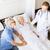 starszy · kobieta · poważnie · mąż · szpitala - zdjęcia stock © dolgachov