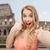 счастливым · беззаботный · путешествия · женщину · Колизей · Рим - Сток-фото © dolgachov
