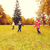 happy little children running and playing outdoors stock photo © dolgachov
