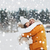 gelukkig · paar · lachend · winter · mensen - stockfoto © dolgachov