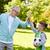yaşlı · adam · erkek · futbol · topu · aile - stok fotoğraf © dolgachov