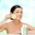 Frau · Schwamm · Schönheit · Bild · kosmetischen - stock foto © dolgachov