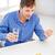 ill man taking his pills at home stock photo © dolgachov