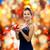 smiling woman holding red gift box stock photo © dolgachov
