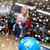nő · karácsony · labda · fiatal · nő · karácsony · kalap - stock fotó © dolgachov