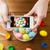 közelkép · nő · kezek · színes · húsvéti · tojások · húsvét - stock fotó © dolgachov