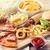 fast · food · przekąski · pić · tabeli · niezdrowe · jedzenie - zdjęcia stock © dolgachov