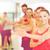 gruppo · sorridere · persone · palestra · fitness - foto d'archivio © dolgachov