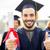 vrijgezel · tonen · diploma · onderwijs · afstuderen - stockfoto © dolgachov