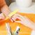 manicure · proces · kobiet · ręce · zdjęcie - zdjęcia stock © dolgachov