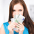 lovely teenage girl with money stock photo © dolgachov