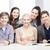 Universidad · estudiantes · reunión · prueba · personas · educación - foto stock © dolgachov