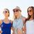 grupo · sorridente · mulheres · óculos · de · sol · praia · férias · de · verão - foto stock © dolgachov